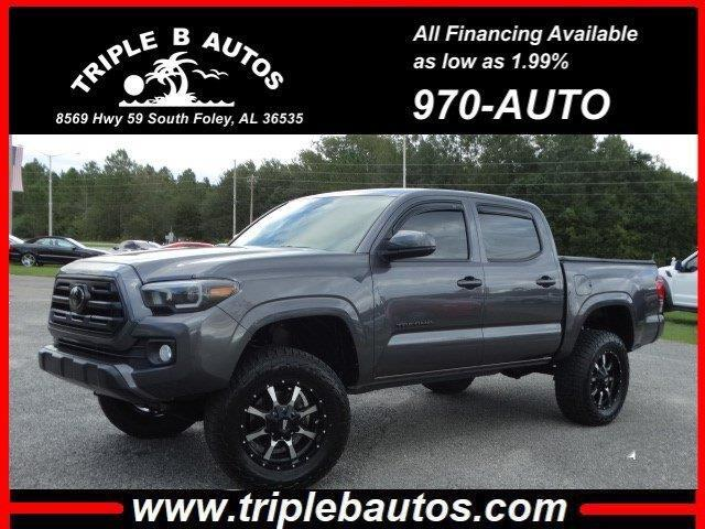 2018 Toyota Tacoma 2WD Double Cab I4 AT PreRunner (Natl)