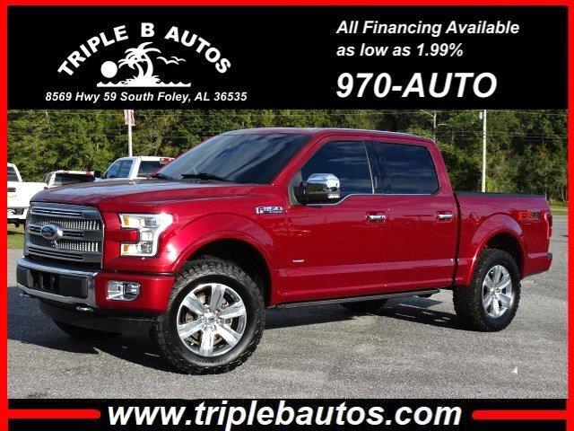 2016 Ford 150 Platinum SuperCrew 6.5-ft. Bed 4WD