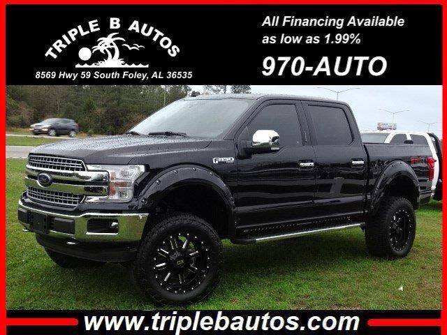 2019 Ford 150 Lariat SuperCrew 6.5-ft. Bed 4WD