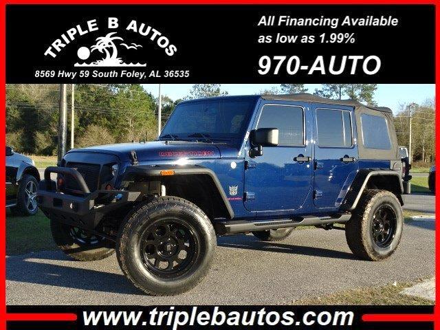Jeep Wrangler Unlimited Unlimited Sahara 4WD 2013