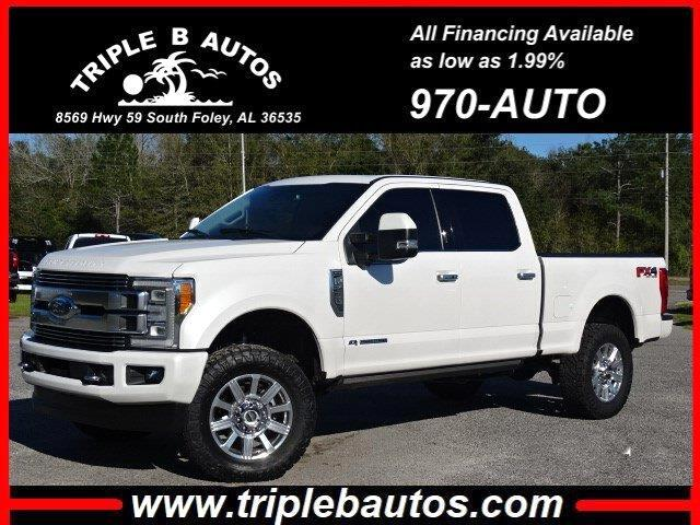 Ford F-250 Lariat Crew Cab Long Bed 4WD 2018