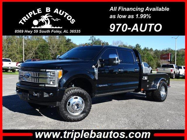 Ford F-350 SD King Ranch Crew Cab Long Bed DRW 4WD 2017