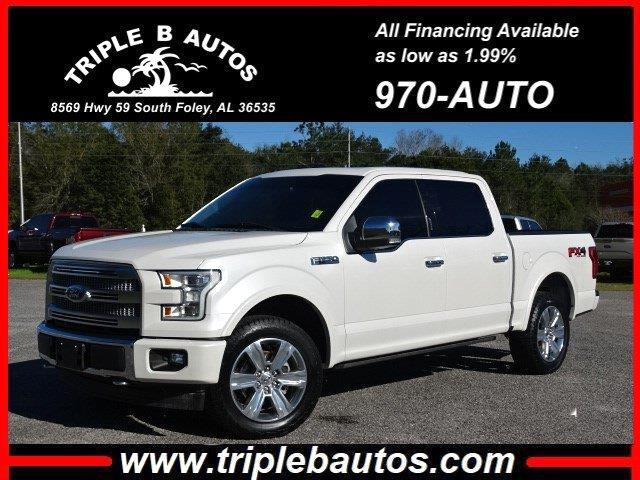 Ford 150 Platinum SuperCrew 6.5-ft. Bed 4WD 2017