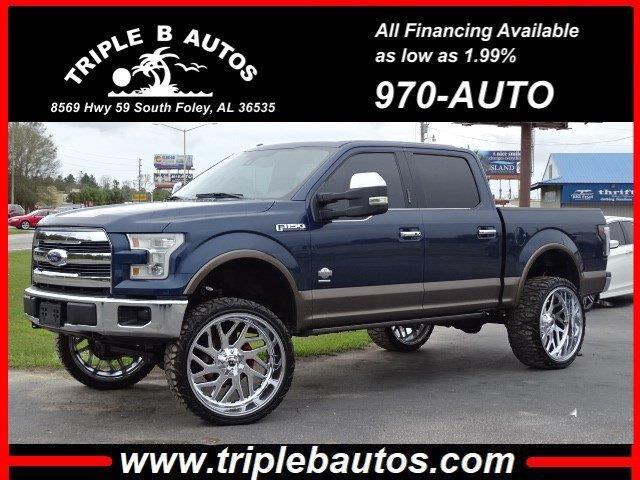 Ford 150 King Ranch SuperCrew 6.5-ft. Bed 4WD 2015