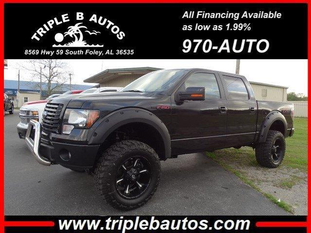 Ford 150 FX4 SuperCrew 5.5-ft. Bed 4WD 2012