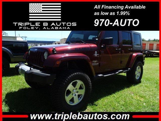 Jeep Wrangler Unlimited Unlimited Sahara 4WD 2010