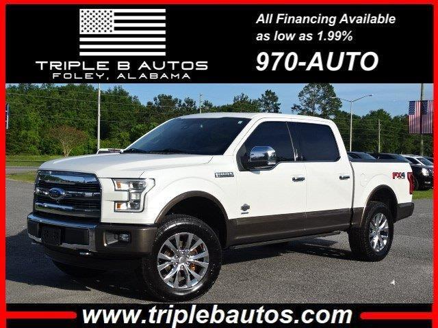Ford 150 King Ranch SuperCrew 6.5-ft. 4WD 2016