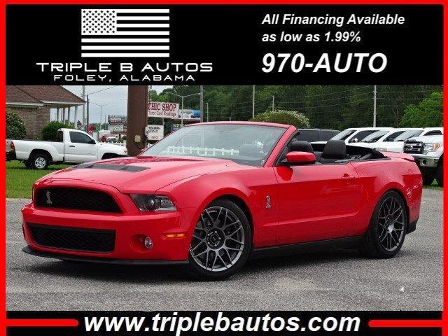Ford Mustang Convertible 2011