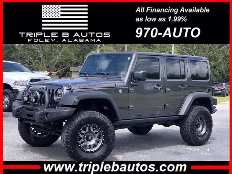 Jeep Wrangler Unlimited Unlimited Rubicon 4WD 2016