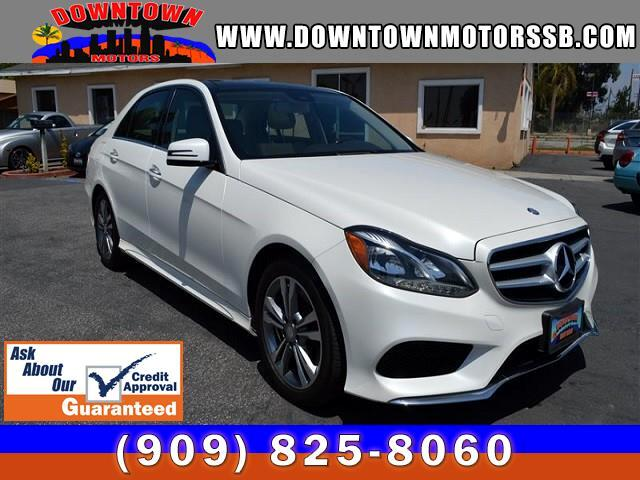 2014 Mercedes-Benz E-Class E250 Luxury BlueTEC Sedan