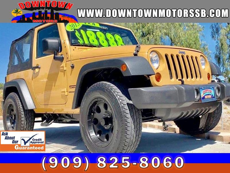 2013 Jeep Wrangler 4WD 2dr X