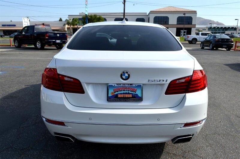 2015 BMW 5-Series 550i