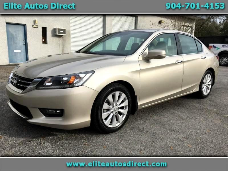 2015 Honda Accord EX-L Sedan CVT