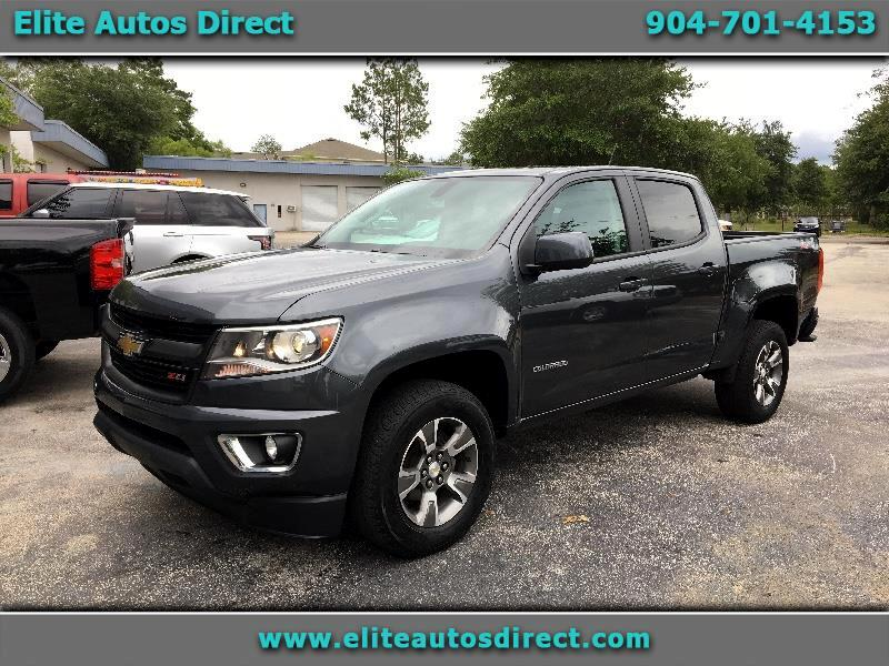 2016 Chevrolet Colorado Z71 Crew Cab 2WD Short Box