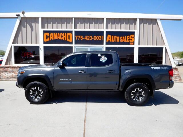 2017 Toyota Tacoma TRD Off-Road Double Cab V6 4WD 5ft