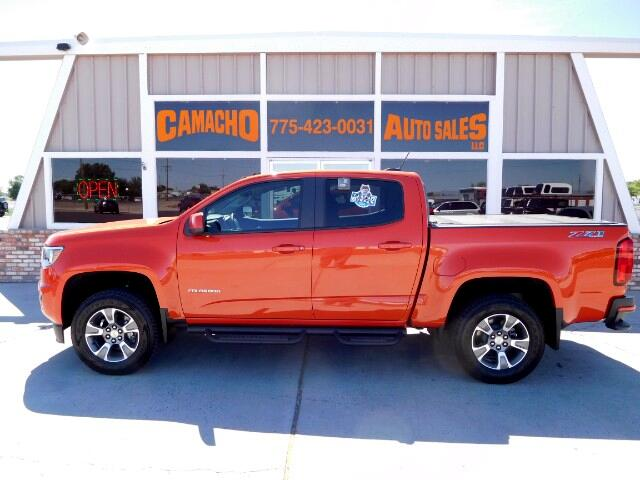 2016 Chevrolet Colorado Z71 Crew Cab 4WD Short Box
