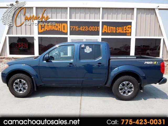 2015 Nissan Frontier PRO-4X Crew Cab 5AT 4WD