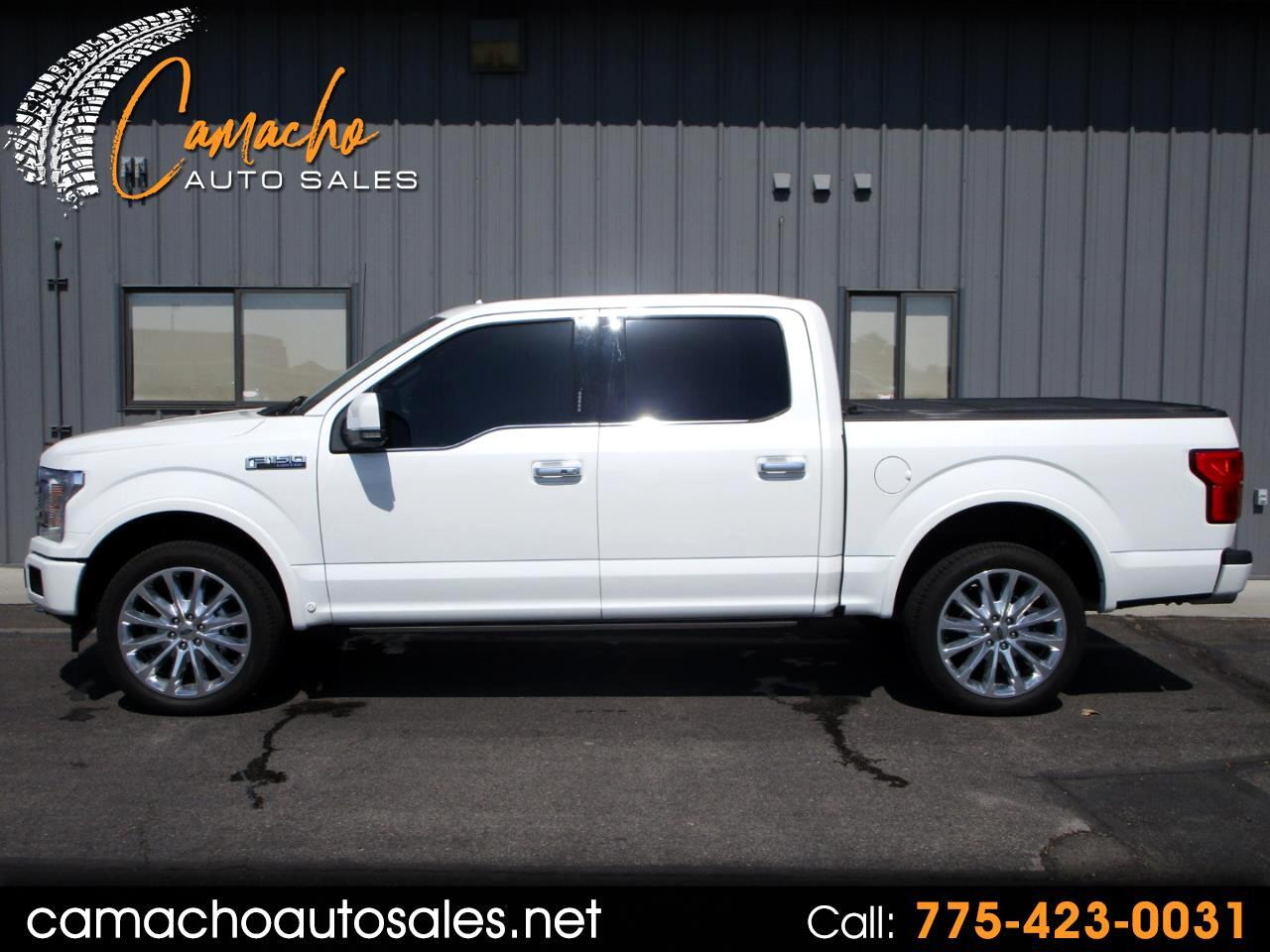 Ford F-150 Limited 4WD SuperCrew 5.5' Box 2020