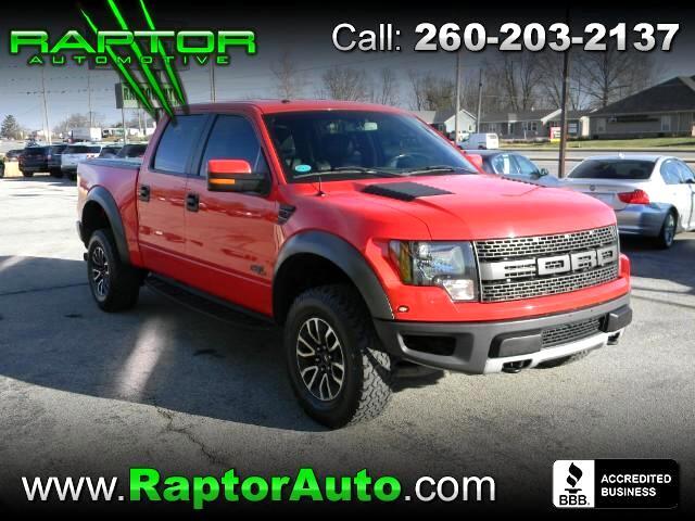 2013 Ford 150 SVT Raptor SuperCrew 5.5-ft. Bed 4WD