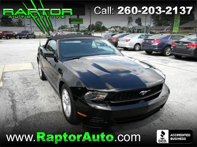 2010 Ford Mustang 2dr Conv