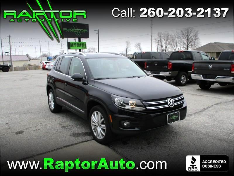 2014 Volkswagen Tiguan SEL 4Motion AWD
