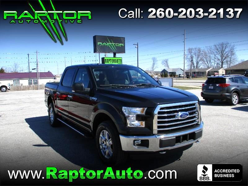 2015 Ford F-150 SuperCrew Crew Cab XLT 4WD