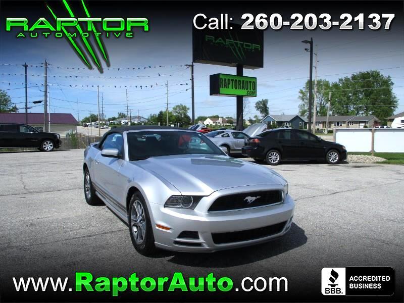 2014 Ford Mustang V6 Premium Convertible