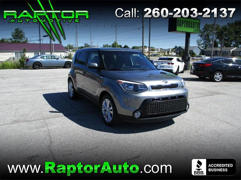 Kia Soul + w/Eco Package 2016