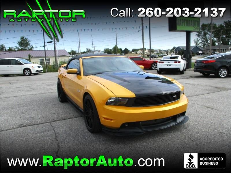 2012 Ford Mustang Roush Stage 3 Convertible Supercharged