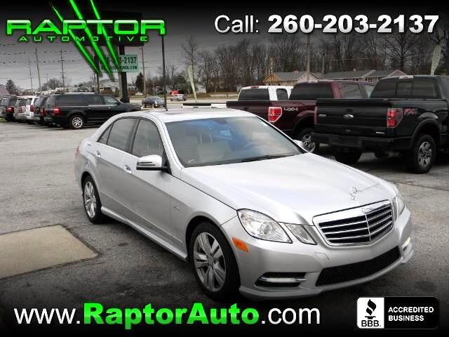 Used 2012 Mercedes Benz E Class For Sale In Fort Wayne, IN 46818 Raptor  Automotive