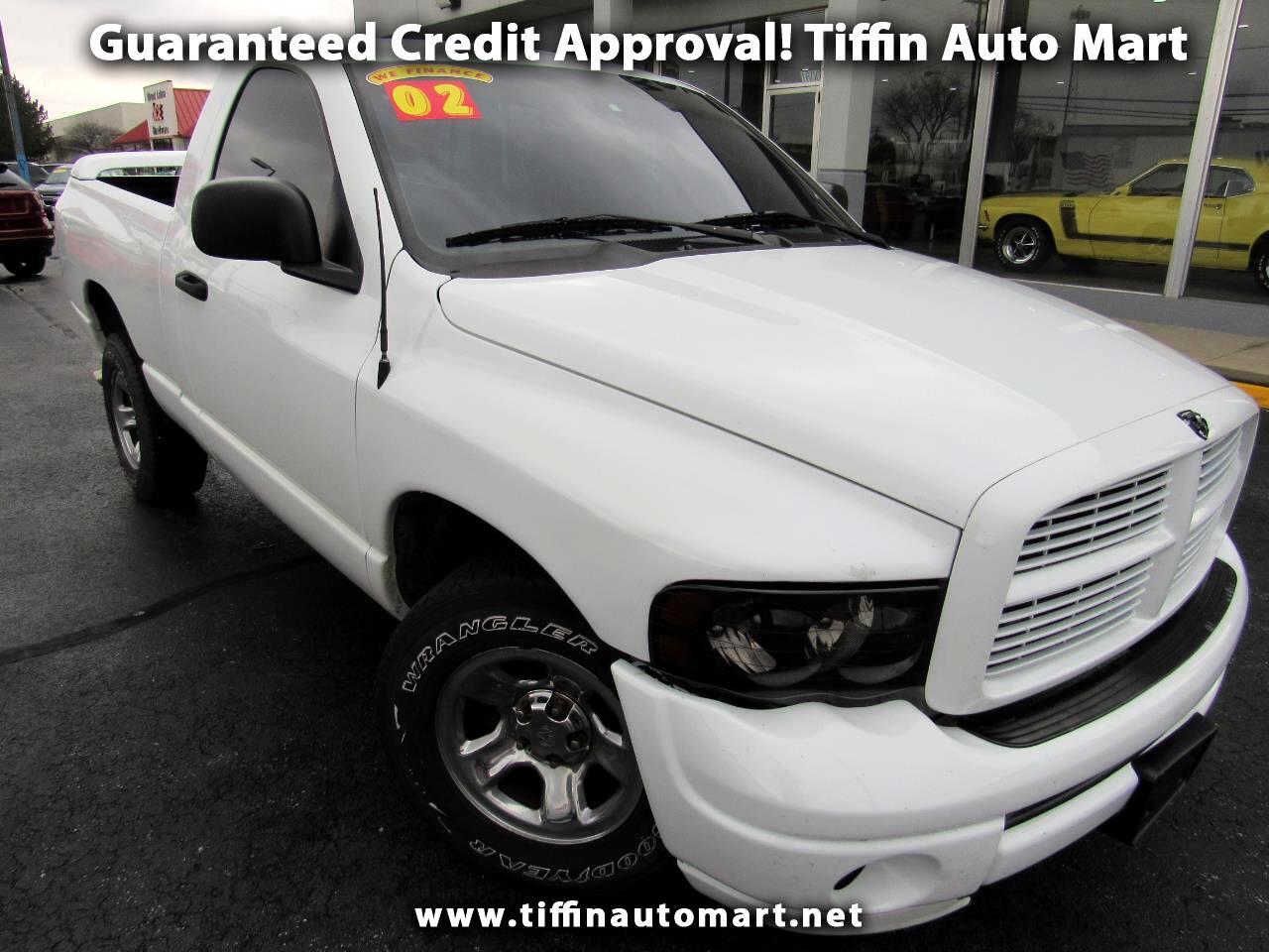 2002 Dodge Ram 1500 SLT Plus Short Bed 2WD
