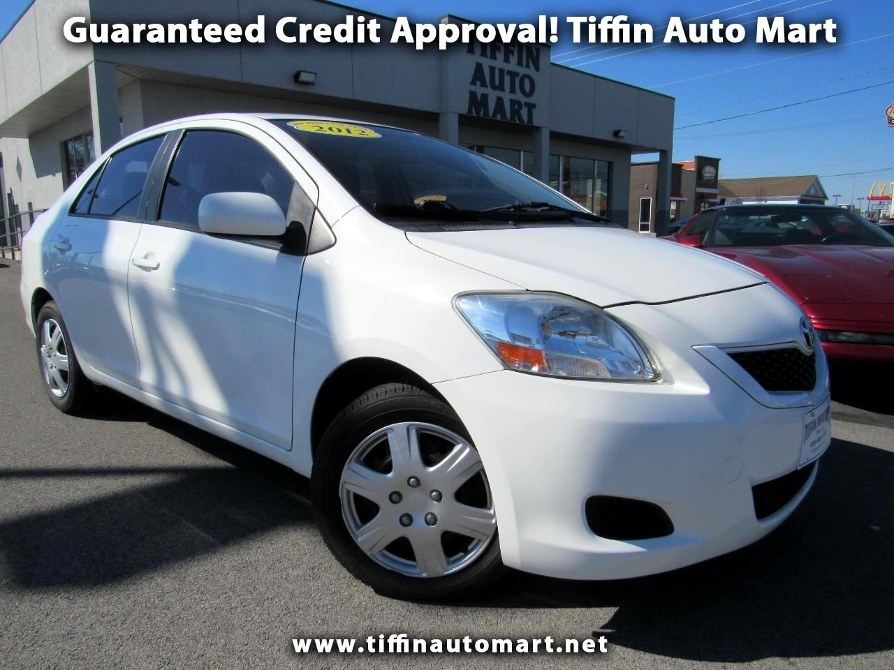 2012 Toyota Yaris 4dr Sdn Auto S (Natl)