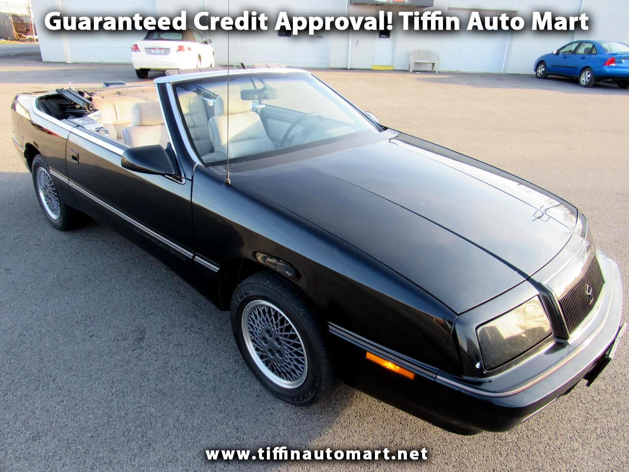 1991 Chrysler LeBaron Highline convertible