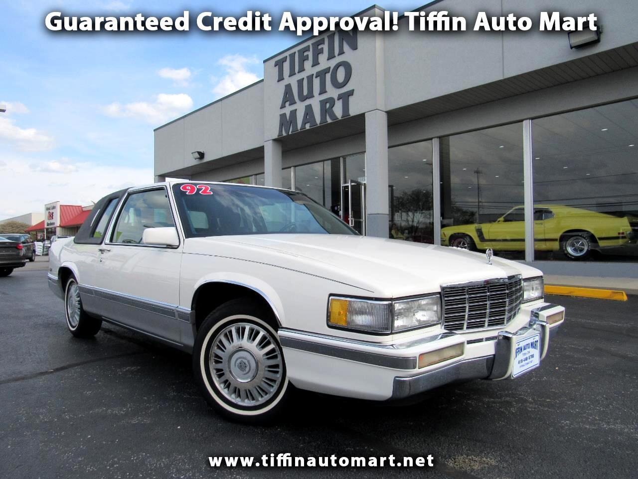 1992 Cadillac DeVille Coupe