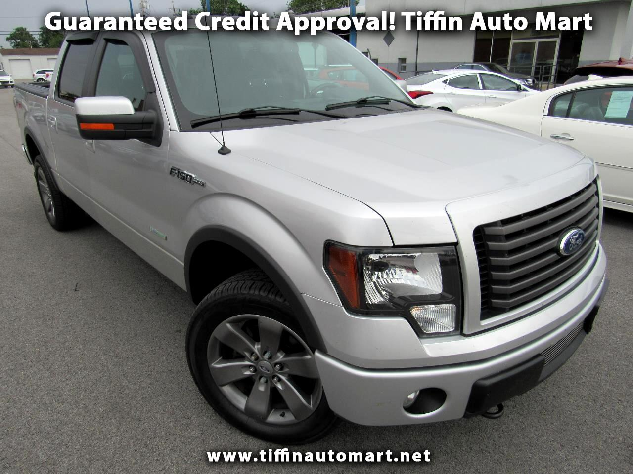 """2011 Ford F-150 4WD SuperCrew 139"""" FX4"""