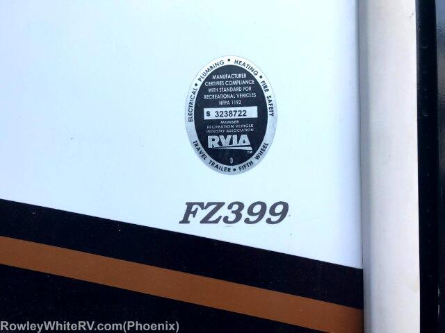2013 Keystone RV Fuzion FZ399