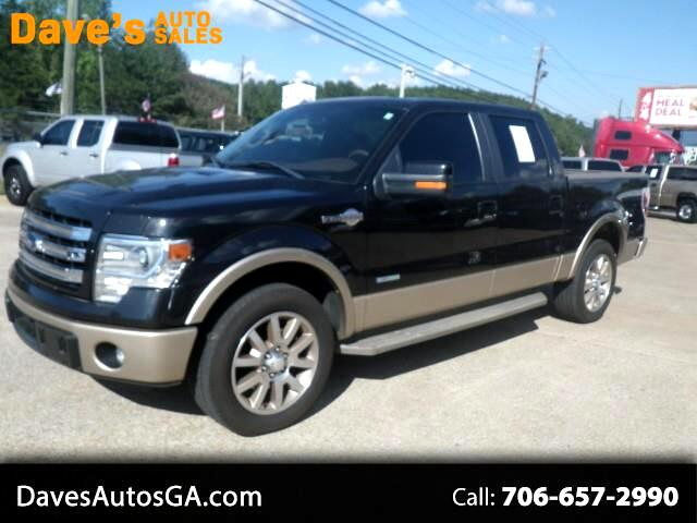 2014 Ford F-150 SUPERCREW LIMITED 5.5-FT BED 2WD