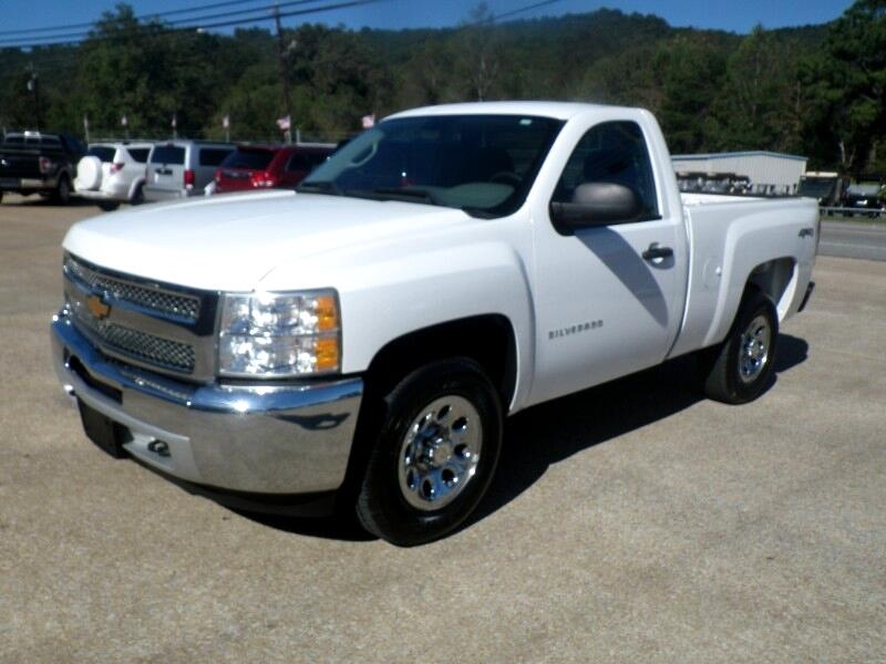 2012 Chevrolet Silverado 1500 Work Truck Long Box 4WD