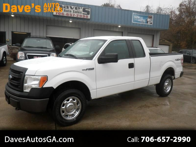 "2013 Ford F-150 4WD SuperCab 163"" XL"