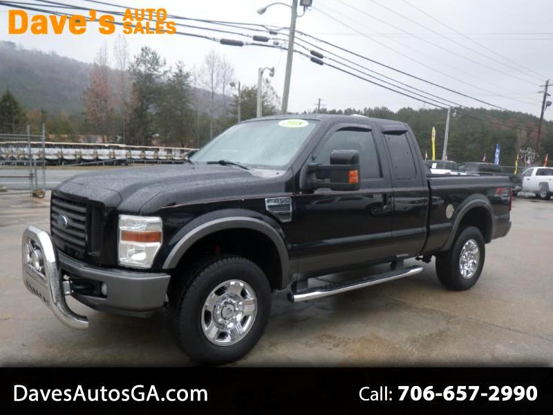 2008 Ford F-250 SD FX4 SuperCab Long Bed
