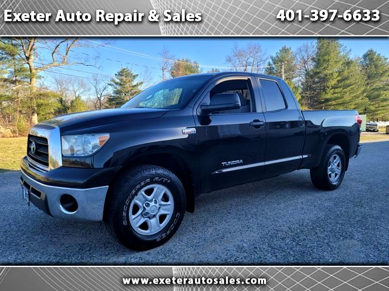 Toyota Tundra Base Double Cab 5.7L 4WD 2008