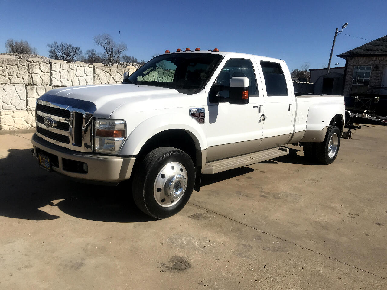 2008 Ford F-450 SD King Ranch Crew Cab DRW 4WD