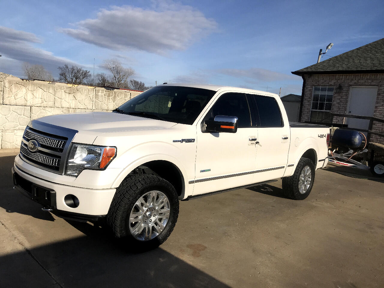 2012 Ford F-150 Platinum SuperCrew 6.5-ft. Bed 4WD