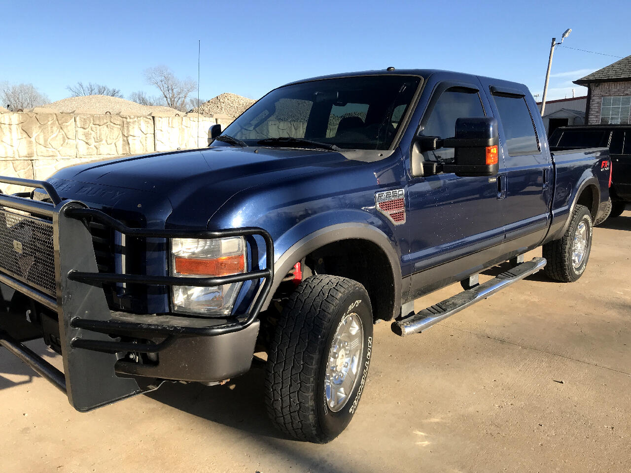 Ford F-250 SD Lariat Crew Cab Short Bed 4WD 2008