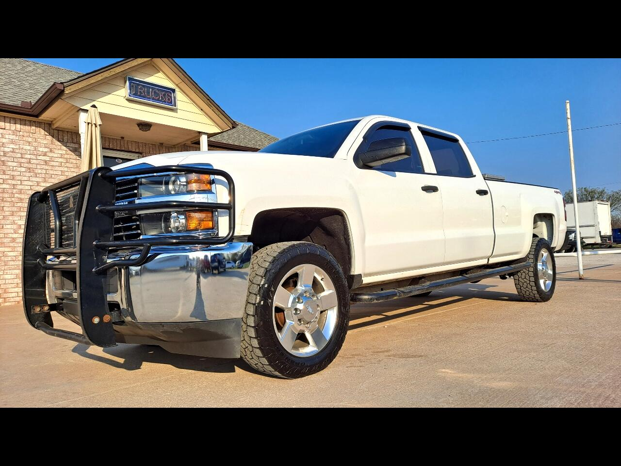 2015 Chevrolet Silverado 2500HD Work Truck Crew Cab Long Box 4WD