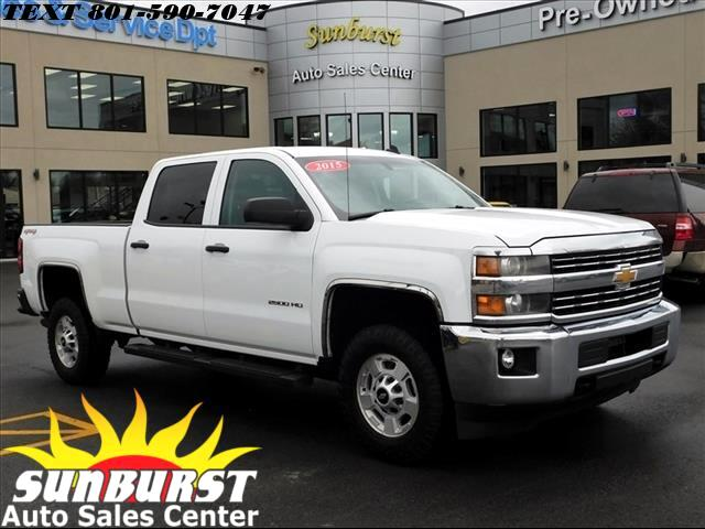 2015 Chevrolet Silverado 2500HD K2500 HEAVY DUTY LT