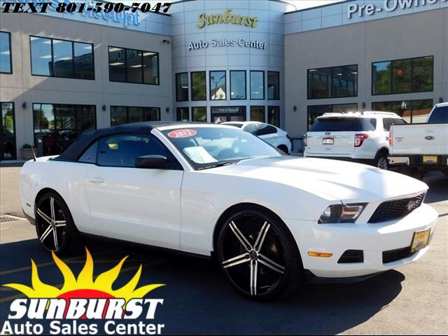 2012 Ford Mustang CONVERTABLE