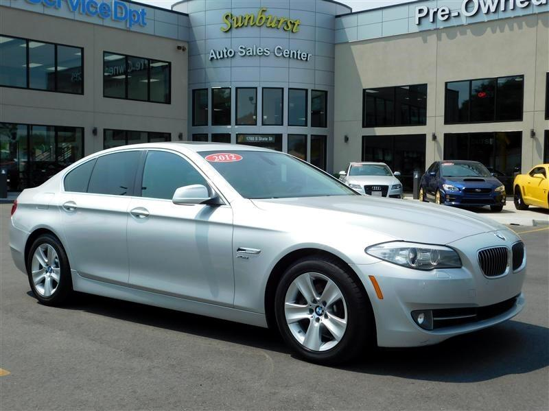 2012 BMW 5-Series xDrive
