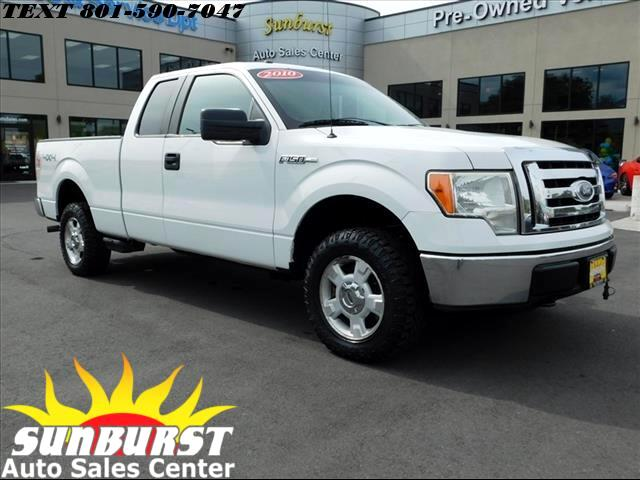 2010 Ford F-150 SUPER CAB XLT