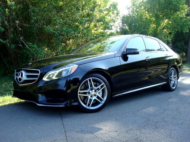 2014 Mercedes-Benz E-Class E550 Sedan 4MATIC